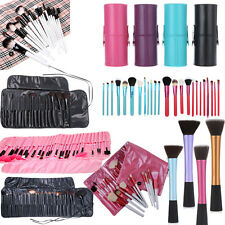 Pro 1/5/7/12/16PCS Makeup Brush Cosmetic Set + Make-up Brushes Pouch Bag Case