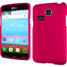 For LG Lucky L16C Rubberized HARD Protector Case Snap On Phone Cover Accessory