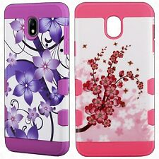 For LG Lucky L16C Rubberized HARD Protector Case Snap Phone Cover + Screen Guard