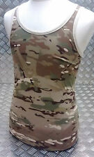 100% Cotton MTP Camouflage Sleeveless Vest Singlet Tank Top All Sizes NEW