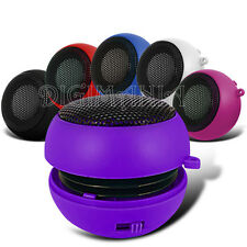 PORTABLE RECHARGEABLE PURPLE 3.5MM SPEAKER FOR VARIOUS MOBILE PHONES