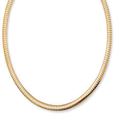 Decadence 14k Gold Omega Chain Necklace