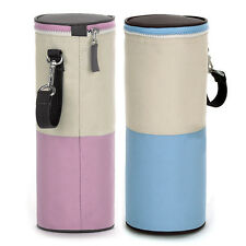 Portable Baby Feeding Milk Water Bottle Insulated Cover Carrier Bag Warmer Pouch
