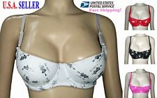 Lot 1 2 4 or 6 pack NWT Cute Girls Teens Training Demi Underwire Bras Cups A B C