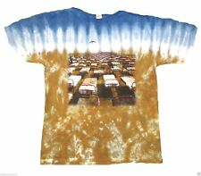 T-Shirts Sizes S-2XL New Authentic Mens Pink Floyd Beds Tie Dye Tee Shirt