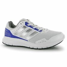 Adidas Duramo 7 Running Shoes Womens White/Silver/Purple Trainers Sneakers