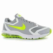 Nike Air Max Premier Running Shoes Mens Grey/Volt Fitness Trainers Sneakers