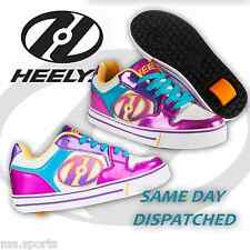 Heelys Motion Plus Girls Kids Junior Roller Skates Trainers Shoes UK Size