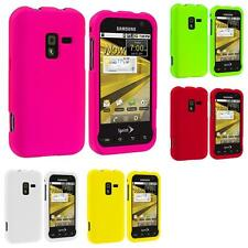 Color Hard Snap-On Rubberized Case Cover Accessory for Samsung Conquer 4G D600