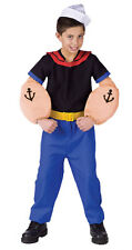 Child Kids Boys TV Show Comic Cartoon Popeye the Sailor Man Halloween Costume