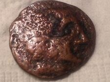 Rare Metal Detector find-Ancient Celtic, Iberian,Greek Roman?  Coin Emperor? V35