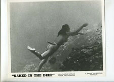 Naked In The Deep 12   1962 Sexploitation original press photo MBX92
