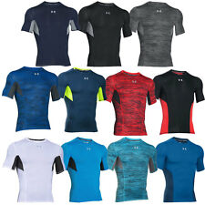 29% OFF RRP Under Armour Mens CoolSwitch Compression Short Sleeve Gym Baselayer