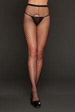 Women's Sexy Lingerie Fishnet Crotchless Pantyhose Adult Sexy Lingerie 8617