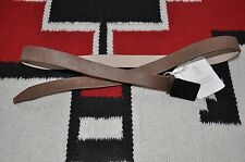 Brunello Cucinelli Made in Italy Fur & Leather Fashion Belt