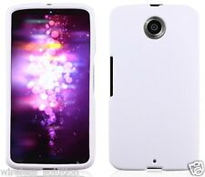 WHITE Snap-On Case Hard Cover for Motorola Nexus 6 / Google Nexus X