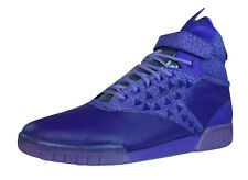 Reebok Classic Exo Fit Hi Clean PM Int Mens Leather Trainers - Purple - C61161