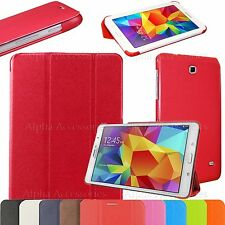 "Ultra Slim PU Leather Folio Stand Case Cover For Samsung Galaxy Tab 4 8"" T330"