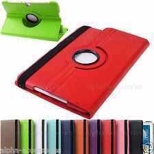 "Leather 360 Rotate Folio Case Cover For Samsung Galaxy Note 3 10.1"" P600 2014 Ed"