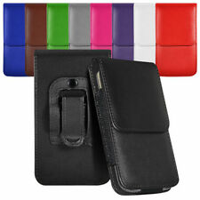 Vertical Belt Large Tab Pouch Case For LG Marquee LS855