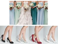 Wedding Shoes - Stunning Crystal Ladies Bridal High Heel Brides Shoes
