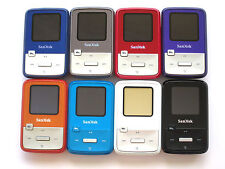 SanDisk Sansa Clip Zip 8GB Rockbox FM/MP3 Player Dual Boot Color Choose