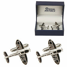 RAF Royal Air Force Spitfire Aircraft Plane Cufflinks ~ Gift Boxed RAF189