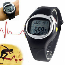 1X Pulse Heart Rate Monitor Wrist Watch Calories Counter Sports Fitness Exercise