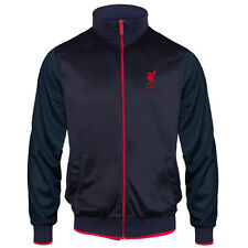 Liverpool Football Club Official Soccer Gift Mens Retro Track Top Jacket