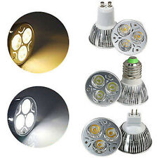Cree/Epistar LED GU10 MR16 E27 Screw Base LED Bulb Down Light Dimmable Spot Lamp