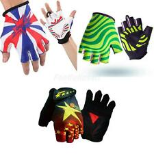 Outdoor Cycling Bicycle Mountain Riding Bike Racing Antiskid Half Finger Gloves