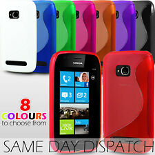 S LINE WAVE GEL SKIN CASE COVER FOR NOKIA LUMIA 710