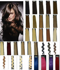 """50G 20PCS Straight & Wavy Remy A Or A+ Tape In Human Hair Extensions 16""""18""""20""""22"""