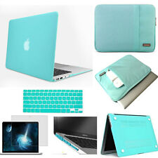 Sleeve bag hard case keyboard cover screen protector For Apple macbook Pro Air