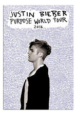 Poster - Justin Bieber Purpose Tour Official New - Maxi Size 36 x 24 Inch