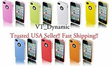 for iPhone 4 Lightweight Hybrid PC TPU Cell Phone Case Cover 4S 4G Accessory