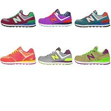New Balance WL574 B Womens Retro Running Shoes Sneakers Trainers Pick 1