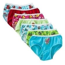 Angry Birds Classic 7 PC Underwear Briefs Girl Size 4