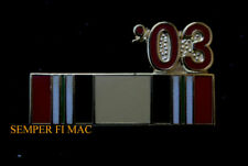 IRAQ 03 SERVICE RIBBON HAT PIN US ARMY MARINES NAVY USCG AIR FORCE OIF GIFT WOW