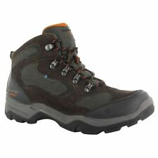 2016 Hi-Tec Storm Mens Suede Leather Hiking Sports Walking Boots - Waterproof