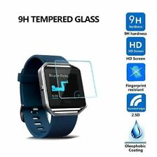 Premium Proof Tempered Glass Film Screen Protector For Fitbit Blaze Smart Watch