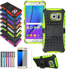 Rugged Hard Hybrid Shockproof Stand Armor Case SLIM Cover For Samsung Galaxy S7