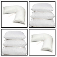 Duck feather Cushion Inner 18x18,22x22, 20x20 or Back Neck Orthopedic V-pillow