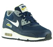 NEW NIKE Air Max 90 (GS) Shoes Children Trainers Blue 307793 417 SALE