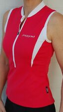 Cycling Bike Jersey Top sleeveless Womens Ladies Red Jaggad S M L