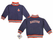 Boston Red Sox Toddler 2T 3T  Embroidered Full-Zip Fleece Jacket