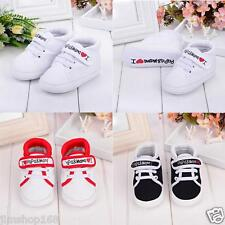 Newborn Toddler Boy Girls Shose Non-Slip Soft Sole Canvas Sneaker Toddler Shoes