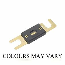 GOLD PLATED CAR AUDIO ANL FUSE AMP AUTOMOTIVE FUSES HOLDER CHOOSE DROP DOWN BOX