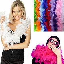 2M Feather Boa Strip Fluffy Craft Costume Dressup Wedding Party Decoratio Choose