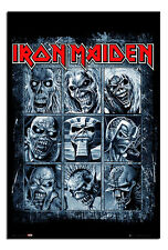 Iron Maiden Eddies Poster New - Maxi Size 36 x 24 Inch